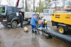 Строительство водопроводных и канализационных