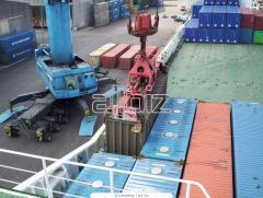 Международные перевозки в морских контейнерах