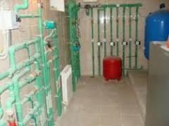 Установка электрических систем отопления