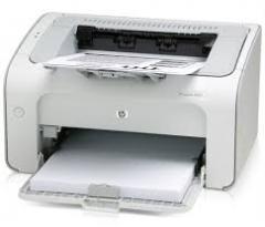 Обслуживание принтеров формата А4 .