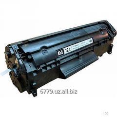 Заправка картриджа лазерного принтера HP.