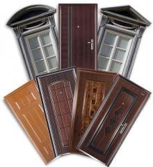Изготовление металлических дверей!