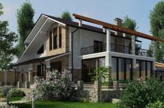 Дизайн-проект дачного дома
