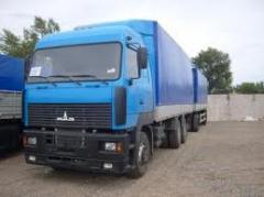 Услуги грузовых агентств