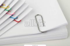 Оптовая поставка бумаги для печати