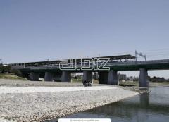 Размещение наружной рекламы  на парапетах мостов