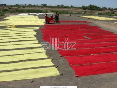 Крашение текстильных изделий
