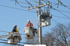 Electric installation work