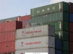 Хранение порожних контейнеров