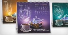 """Дизайн календаря для чая """"АМИР"""""""